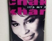 SALE Chaka Khan Album Cover Notebook Handmade Spiral Journal It's My Party