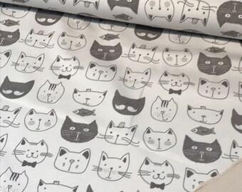 Jersey cats Cat Heads (12,40 EUR / m)