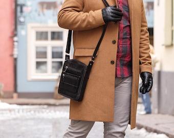 Handmade leather messenger bag, Leather cross body bag, Leather handbag for men,Mens handbags,leather messenger bags Mens leather bags ( 32)