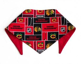 Chicago Blackhawks Dog Bandana - Red
