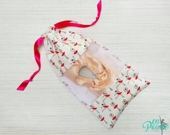 Ballet Pointe Shoe Bag - Dance Shoe Bag - Ballet Bag   Ballerina