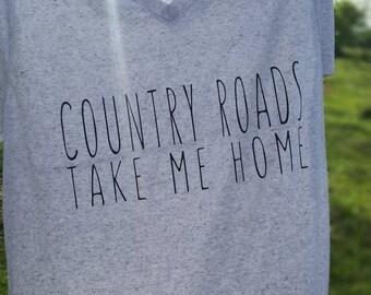 Country Roads Tee