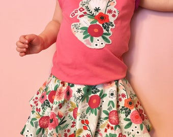 Scalable dress 18 months to 3 years blooms in the summer/spring/summer colors