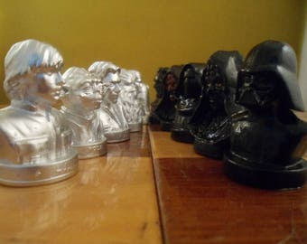 Chess set Star Wars, Metal, Husband gift, mens gift, father, boyfriend gift, brother gift