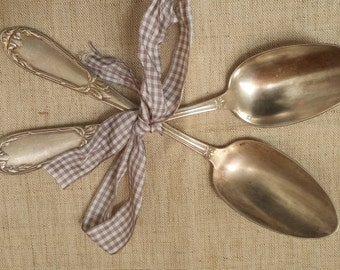 French vintage spoons