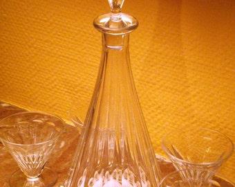 Settling in Baccarat Crystal carafe - model REX 1930