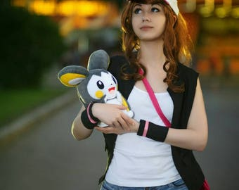 Pokemon black and white custom Hilda print 2x