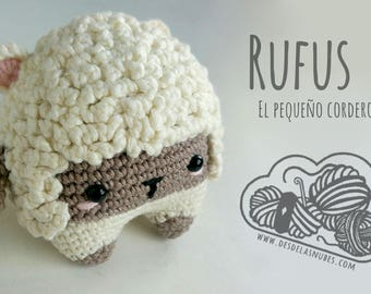 Rufus, sheep made with pattern Lalylala amigurumi