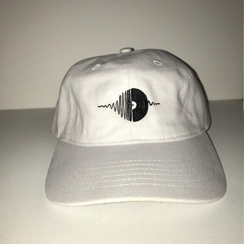 New Vinyl Record Baseball Hat Dad Hat Adjustable Back Strap