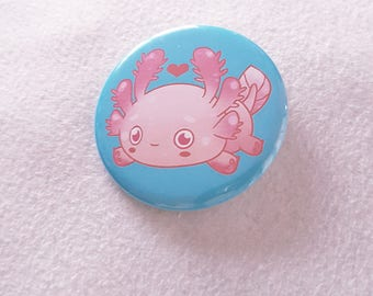 Axolotl Love Pin