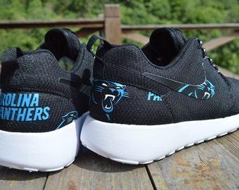 Men NFL inspired Nike Roshe run. (Any NFL team)