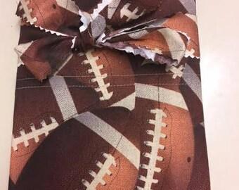 Football Pillowcase   Original Design  Standard Size