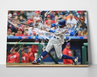 Curtis Granderson Poster Limited Edition Canvas | Curtis Granderson Poster