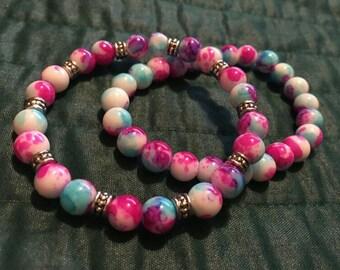 Cotton Candy Bracelet Set