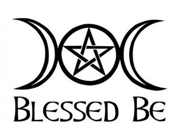 Blessed Be Pagan Wiccan Shirt