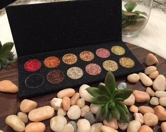 12 piece glitter palette - every palette can be customized!