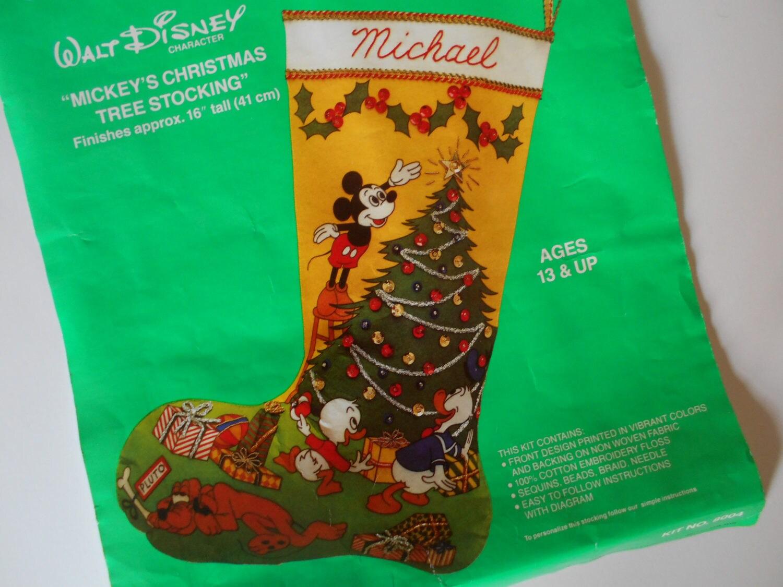 Disneys mickey mouse christmas stocking kit mickey mouse 2500 solutioingenieria Images