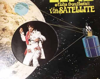 "Elvis ""Aloha From Hawaii via Satellite"" Double Album"