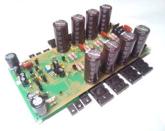 High quality mono amplifier LEACH AMP (2SC5200 and 2SA1943) 400 Watts