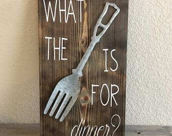 What the fork sign