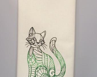 Cat Tea Towels - Free shipping