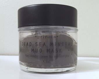 Dead Sea Mineral Mud Mask - Green tea and white pear