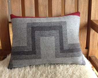 Wool Decorative Pillow / Insert Included