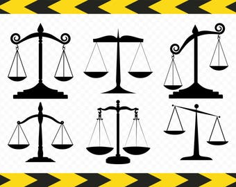 Kitchen scale SVG Weight Scales of justice Bundle Clipart Cut files for Cricut silhouette Dxf Pdf Png files