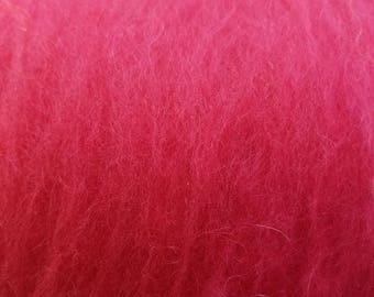 Mohair and wool blends