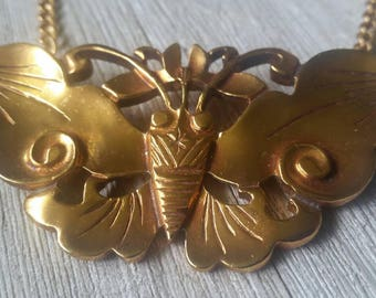 Gorgeous Vintage Moth Necklace ~ Smithsonian Institution ~ Unique & Stunning