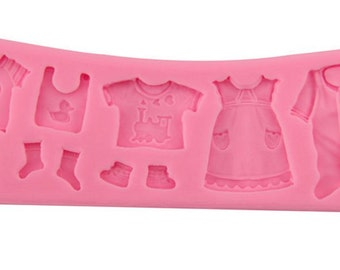 Baby Clothes Silicone Mold