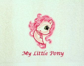 My Little Pony Embroidered Hand Towel