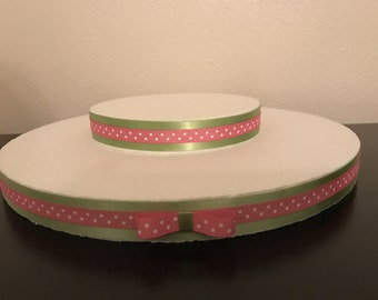 Cake pops stand, lime and pink lollipop/cake pops stand, minnie mouse cake pops stand