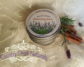 Spiced-Lavender Whipped Body Butter