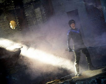 Nightwing cosplay print 'dust' incl. signature limited prints