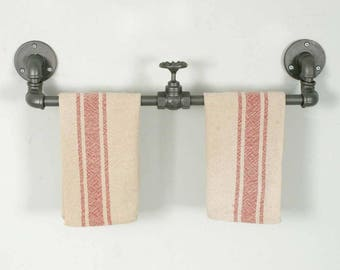 Towel Rack With Valve