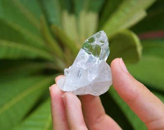 Clear Quartz Crystal Cluster, Clear Quartz Point, Crystal Point, Healing Crystal