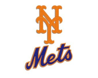Mets embroidery design - Machine embroidery design