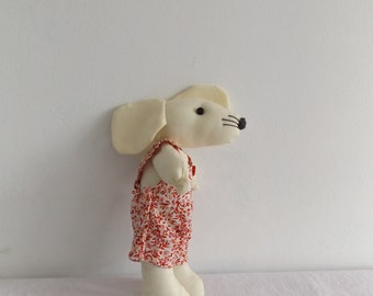 Funny Mouse wearing cool pants/Hand-made Toy/Stuffed AnimalSoft/Children's Gift