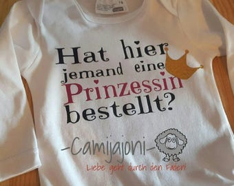 Princess baby bodysuits
