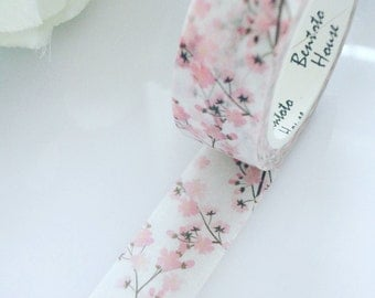 Cherry Blossom Washi Tape Flowers Floral Deco Masking Tape