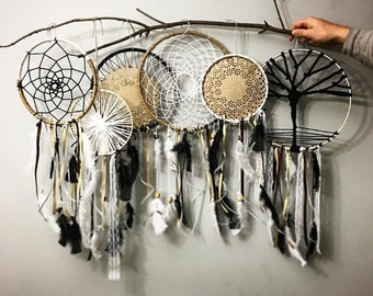 6 dream catchers together