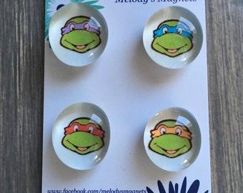 Ninja Turtle magnets