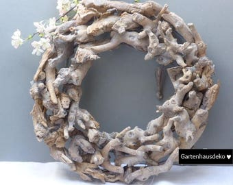 Wreath * logs * 45 cm