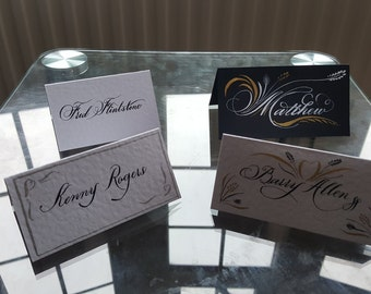 Calligraphy Name/place Cards