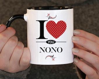 I Love You Nono , Nono Gift, Nono Birthday, Nono Mug, Nono Gift Idea, Baby Shower, Mothers Day