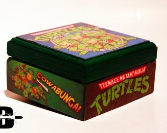 Teenage Mutant Ninja Turtles Keepsake Box