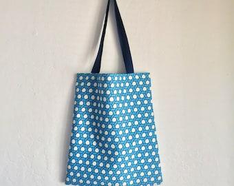 Must Blue. Eco bag, cotton bag, fabric bag, canva bag, reusable bag, tote bag, daily bag