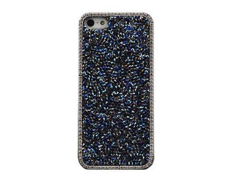 Navy Luxury Glitter Bling Crystal Hard Case for iPhone 6, 6S, 6 Plus, 6S Plus, SE, 5, 5S
