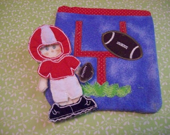 Football Flat Doll Mini Plat Set (2 different colors to choose from)